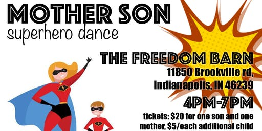 Mother Son Superhero Dance