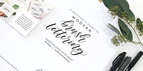 Beginners Brush Lettering Workshop - Long Beach tickets