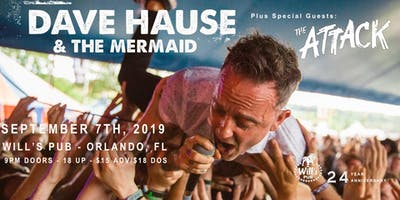 Dave Hause & the Mermaid w/ The Attack