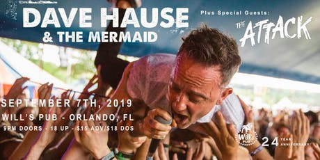 Dave Hause & the Mermaid w/ The Attack tickets