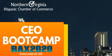 CEO Bootcamp: RAX2020  Revenue Accelerator tickets