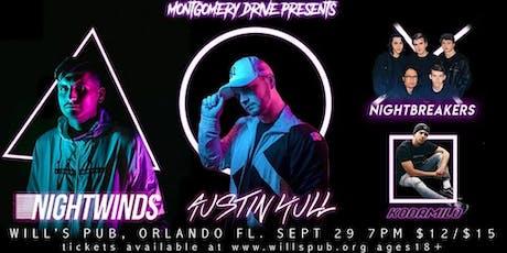 Night Winds w/ Austin Hull, Nightbreakers, and Kodamilo tickets