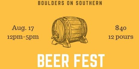 Boulders on Southern 5th Annual Summer Beerfest tickets
