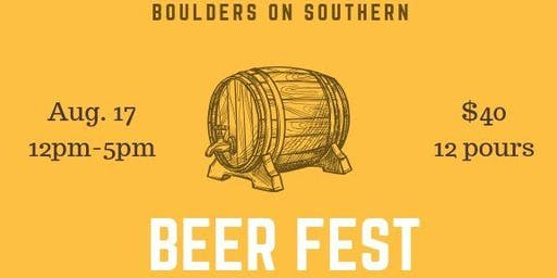 Boulders on Southern 5th Annual Summer Beerfest