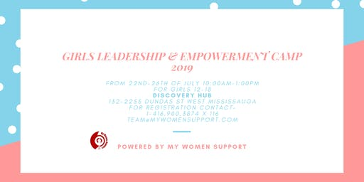 Girls Leadership & Empowerment Camp 2019