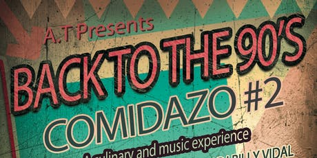 Comidazo Back to the 90's   tickets