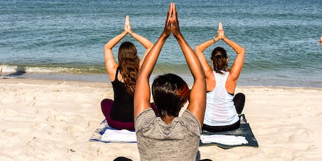 Sip & Stretch Beach Yoga tickets
