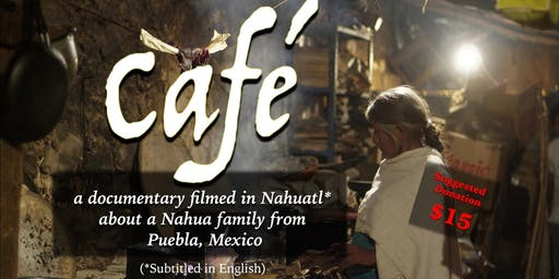 Café (Salt Lake City, UT) Film Screening
