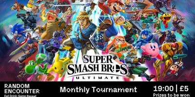 Monthly Smash Bros Tournament!