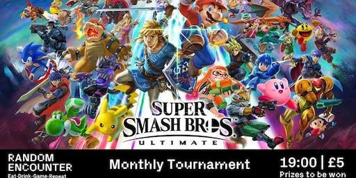 Monthly Smash Bros Tournament!