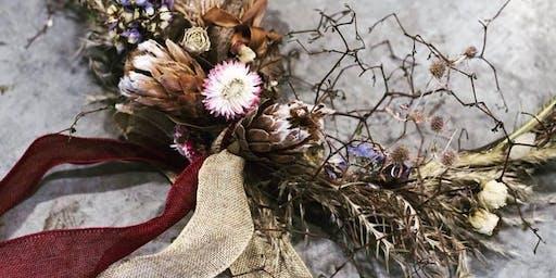 Dried Flower Wreath Workshop