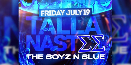 TALLANASTEE THE BOYZ N BLUE SUMMER JUICE JAM FRIDAY JULY 19