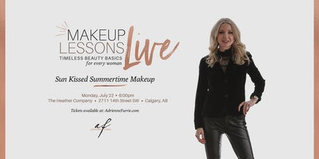 Sun Kissed Summertime Makeup - Live Group Makeup Lesson tickets