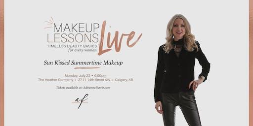 Sun Kissed Summertime Makeup - Live Group Makeup Lesson