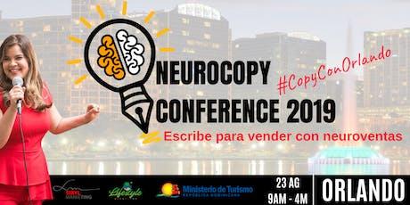 Neurocopy Conference 2019 - Escribe para vender tickets