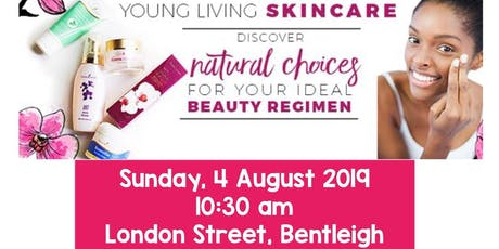 Young Living Skin Care and Mineral Makeup tickets