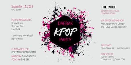 Daebak Kpop Party tickets