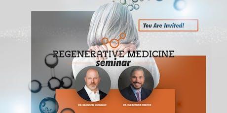 Regenerative Medicine Seminar July 30 tickets