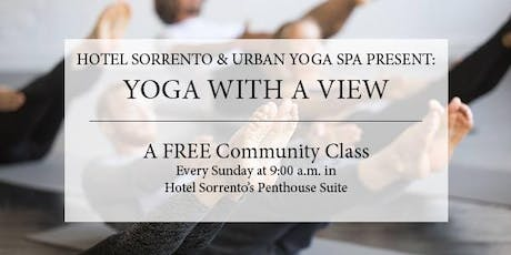 Yoga with a View | Hotel Sorrento Penthouse Suite tickets