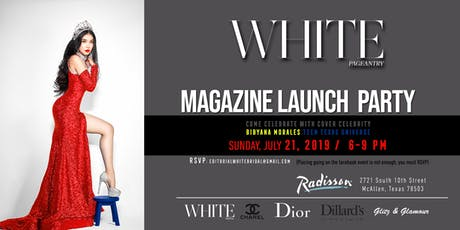 WHITE Pageantry Magazine Launch tickets