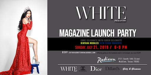 WHITE Pageantry Magazine Launch