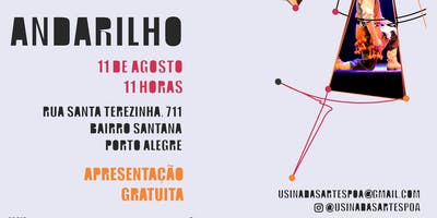 ESPETÁCULO ANDARILHO (R)EXISTE USINA DAS ARTES
