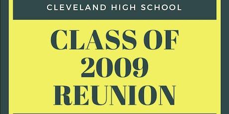 CHS 2009 Reunion  tickets