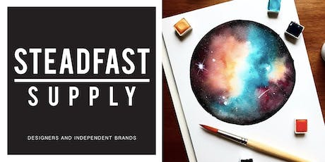 DIY Workshop | Painting the Galaxy w. Watercolors, Hosted by Writing Desk Creatives tickets