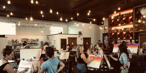 Paint & Sip at Truckee Philosophy!