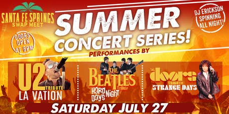 Santa Fe Springs Swap Meet Summer Concert Series  tickets