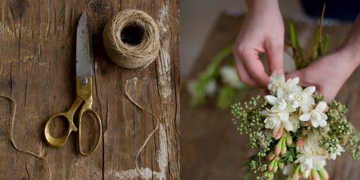 Create a Hand Tied Bouquet - Workshop