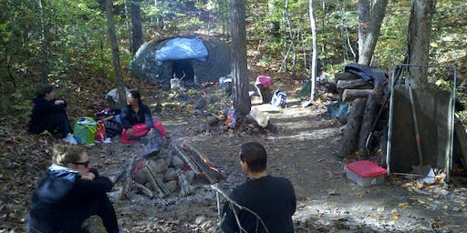 Sweat Lodge in Honor of Summer and the Direction of the South