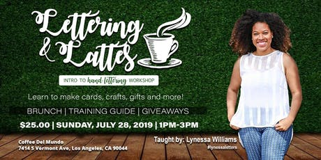 Lettering and Latte's w/ Lynessa tickets