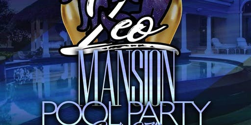 Mansion Pool Party