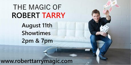 The Magic of Robert Tarry tickets