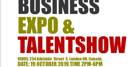 BUSINESS EXPO & TALENT SHOW OCTOBER 19, 2019 tickets