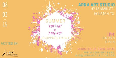 Summer Pop-up & Pull-up Event tickets