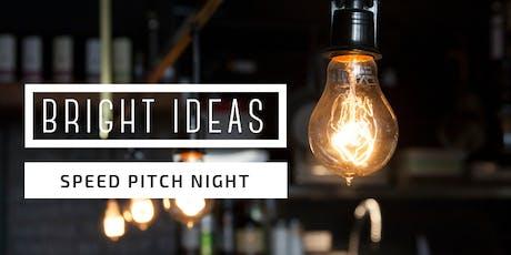 Bright Ideas Speed Pitch | Devonport tickets