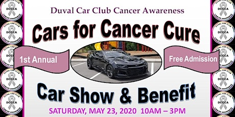 1st Annual Cars for Cancer Cure carshow & Benefit tickets