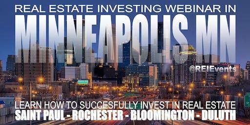 Wholesaling Real Estate WEBINAR Minneapolis MN