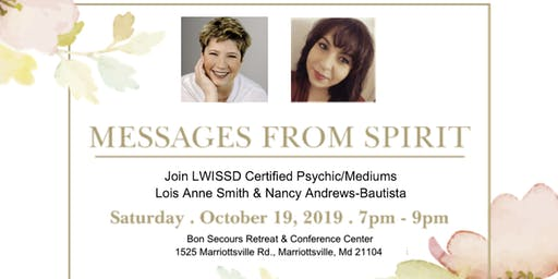 Messages from Spirit with Lois Anne Smith & Nancy Andrews