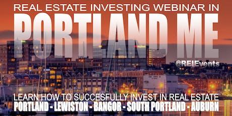 Flippping Houses for Profit Webinar in Portland ME tickets