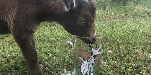 Painting with Goats & Drinking Beer