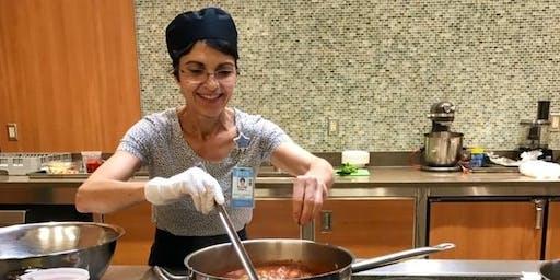 Traveling Along Mediterranean Countries - Vegan Cooking Class