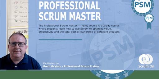Professional Scrum Master-Brisbane
