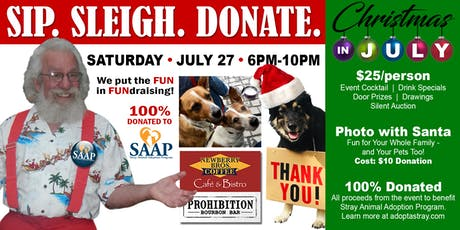 Sip. Sleigh. Donate. A Fundraiser for SAAP tickets