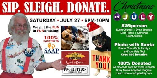 Sip. Sleigh. Donate. A Fundraiser for SAAP