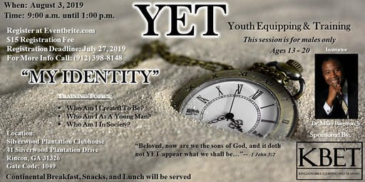 YET (Youth Equipping & Training)