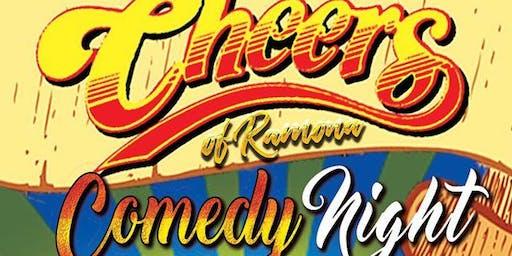 Cheers of Ramona: Comedy Night: Fri. Aug 9th 9:00 pm