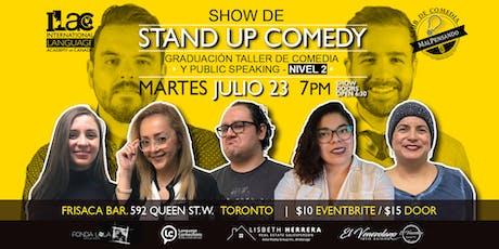 Graduación Taller MalPensando - Nivel 2 - Stand Up Comedy tickets